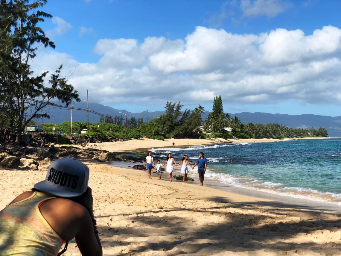 Ger-shooting-ʻOhana-walking